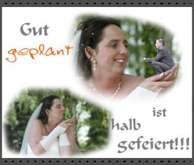 Planung Hochzeit Alpenrod, Hochzeitsplanung Rheiland-Pfalz, Duo Wie-Waldi